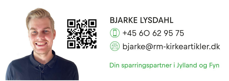 Sig hej til Bjarke - vores nye konsulent i Jylland og på Fyn